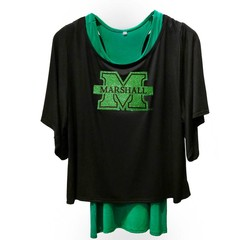 Marshall University Tank and Tunic Set