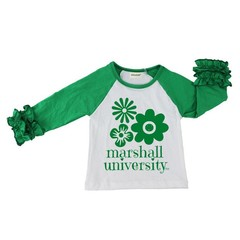 Marshall University Children's Lazy Daisy Tee