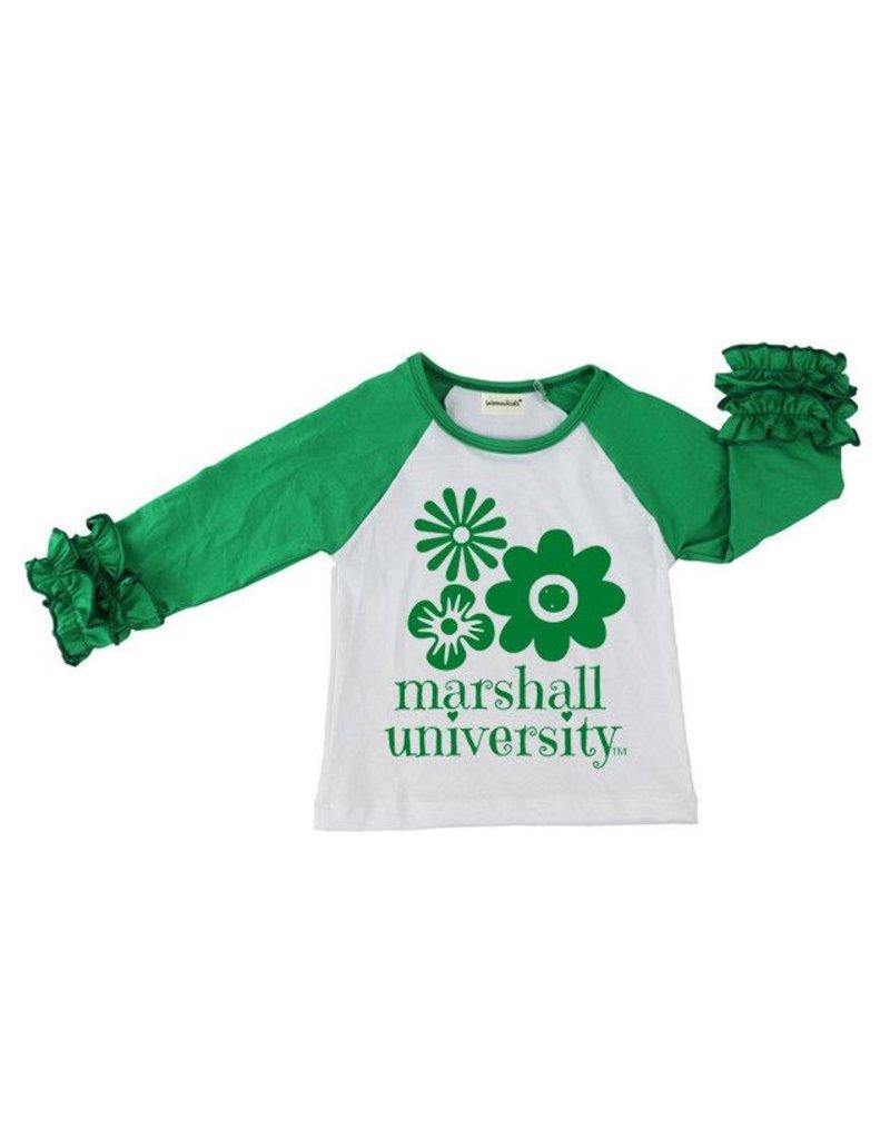 Marshall University Children's Lazy Daisy Tee