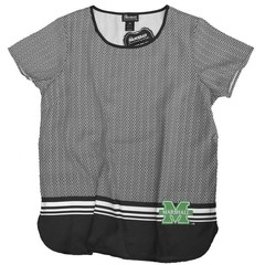 Marshall University Herringbone Sophisticate Top