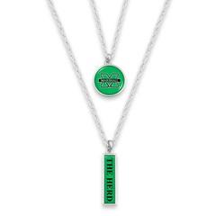 Marshall University Double Layer Necklace