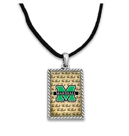 Marshall University Script Logo Necklace