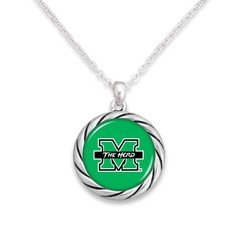 Marshall University The Herd Rope Necklace