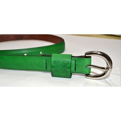 Marshall University Ladies' Embossed Leather Belt