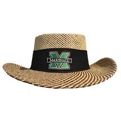 Marshall University Men's Gambler Straw Hat