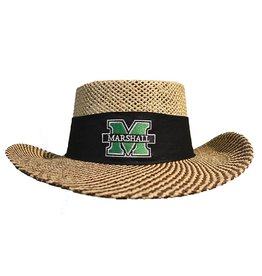 Marshall University Men's Gambler Straw Hat