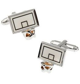 Basketball Backboard Cufflinks