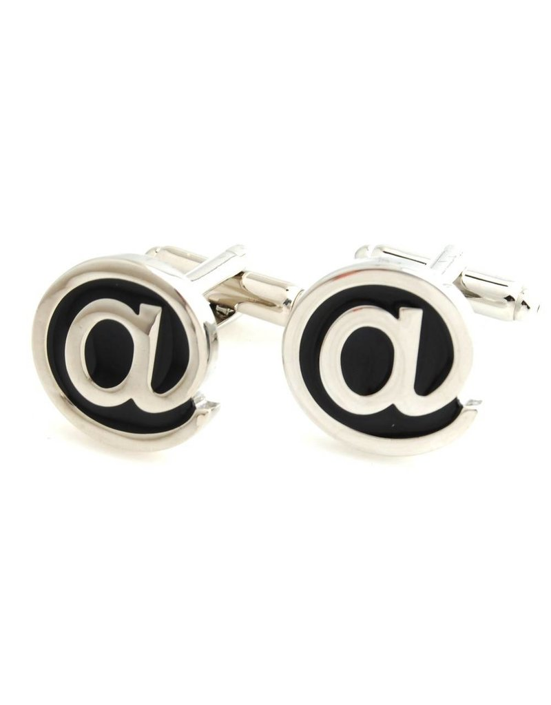 The At Symbol Cufflinks