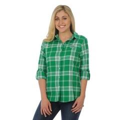 University Girls University Girls Marshall University Boyfriend Plaid Shirt