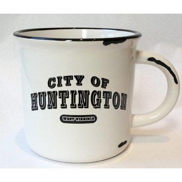 City of Huntington Vintage Western Mug
