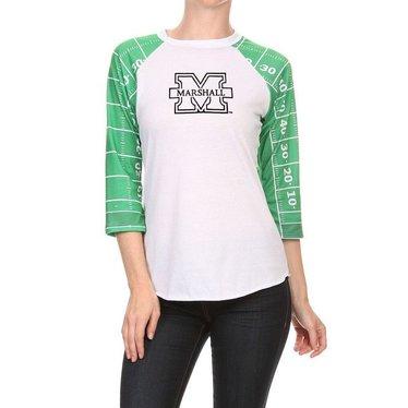Women's Marshall Playbook Tee Shirt