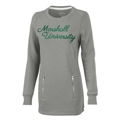Marshall Women's Zip Tunic Sweatshirt