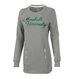 Marshall Women's Zip Tunic Sweatshirt