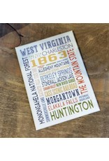 Cities of West Virginia Magnet