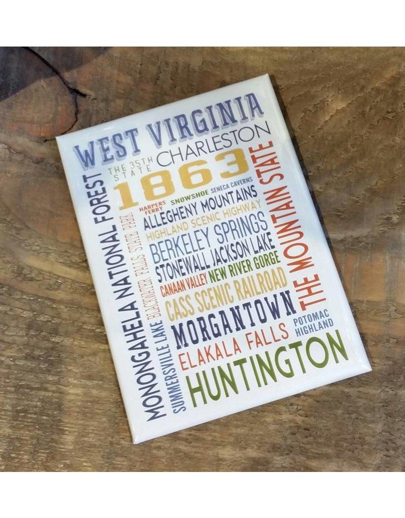 Cities of West Virginia Magnet