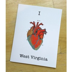 I Heart West Virginia Card