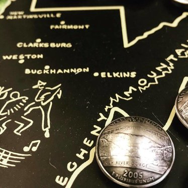 Making Cent$ WV State Quarter Magnet