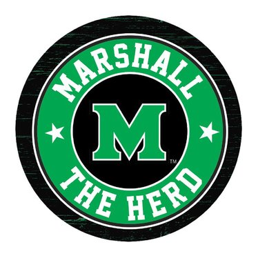 Marshall University Absorbent Car Coasters