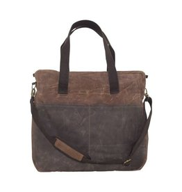 Waxed Canvas Travel Tote