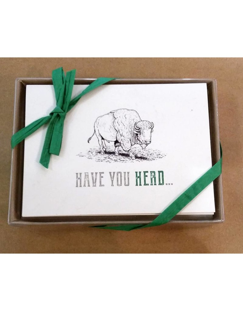 Herd Country Boxed Note Cards