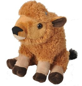 Baby Bison Plush Buffalo