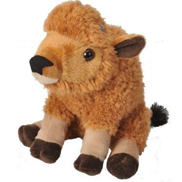 Baby Bison Plush Buffalo