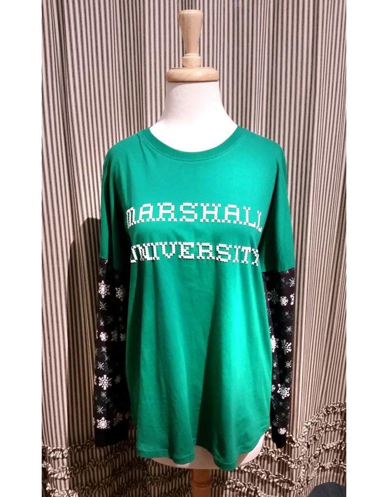 Marshall Holiday Snowflake Shirt