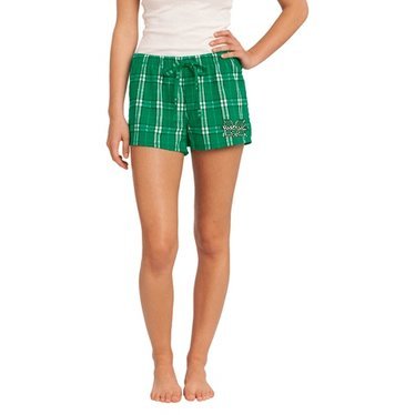 CI Sport Marshall University Women's Plaid Boxer Shorts