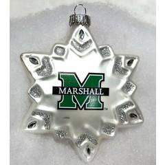 Marshall University Snowflake Ornament