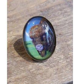 Buffalo Lapel Pin