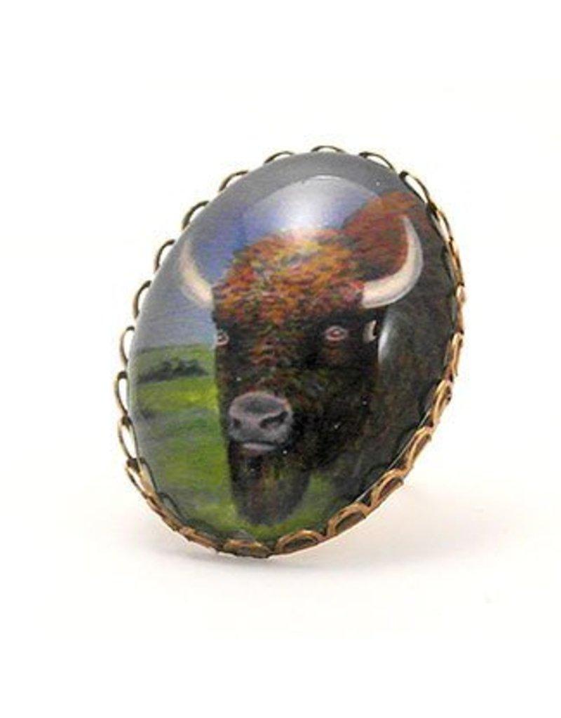 Buffalo Cocktail Ring