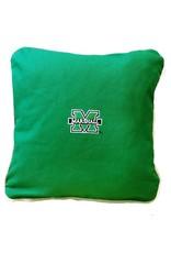 Marshall University Twill Throw Pillow