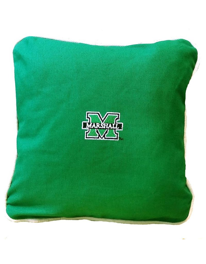 Marshall University Twill Throw Pillow