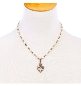 Hearts & Pearls Necklace