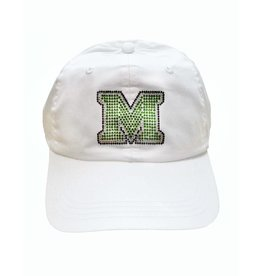 Marshall University Crystal Bling Hat