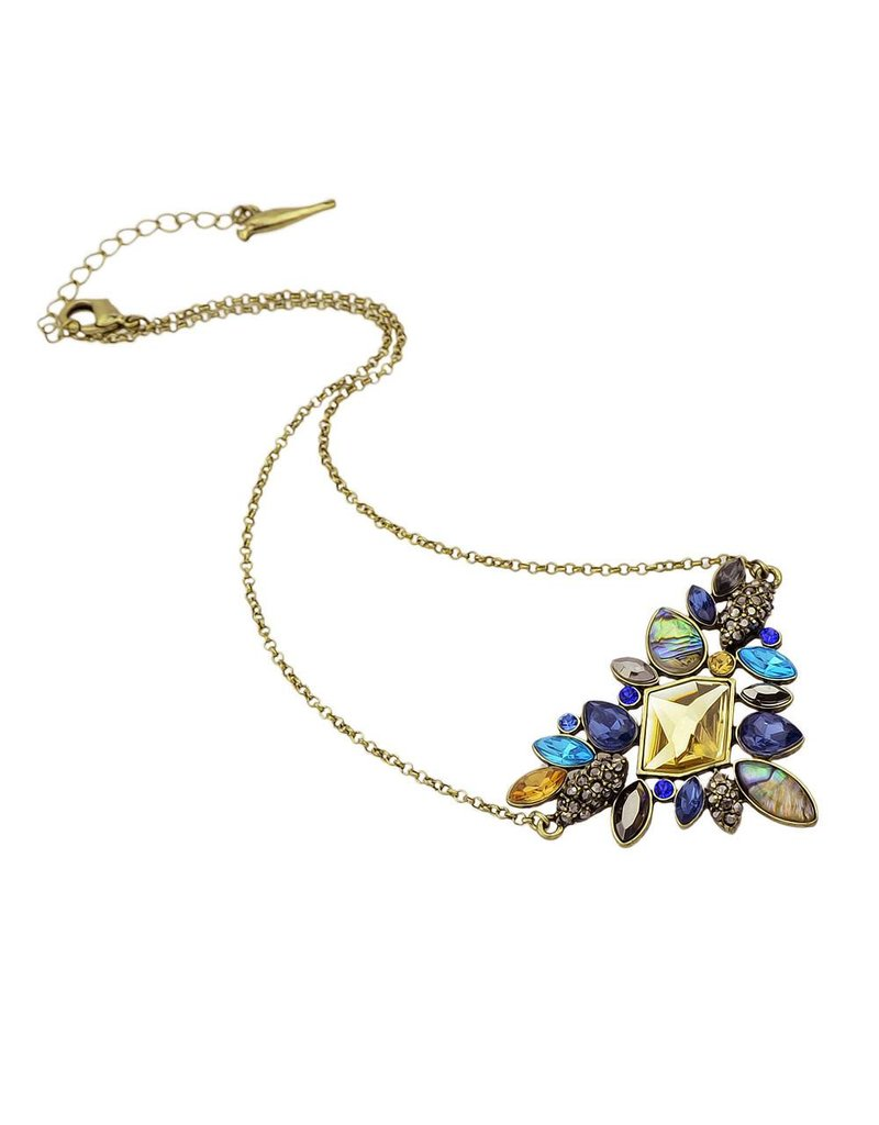 Mary & Millie Devora Color Crystal Necklace