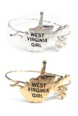 WV Girl Hook Bangle Bracelet