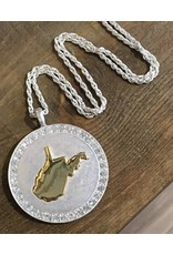 WV Disc Necklace