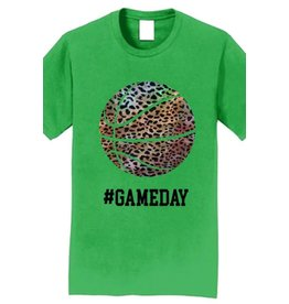 Leopard Gameday Basketball Tee