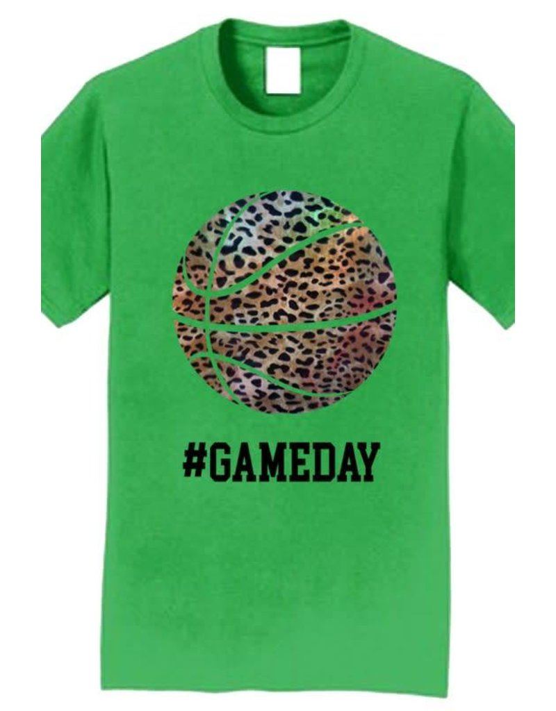 Leopard Gameday Basketball Tee