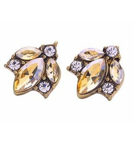 Mary & Millie Champagne Earrings