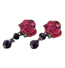 Mary & Millie Vintage Rose Earrings
