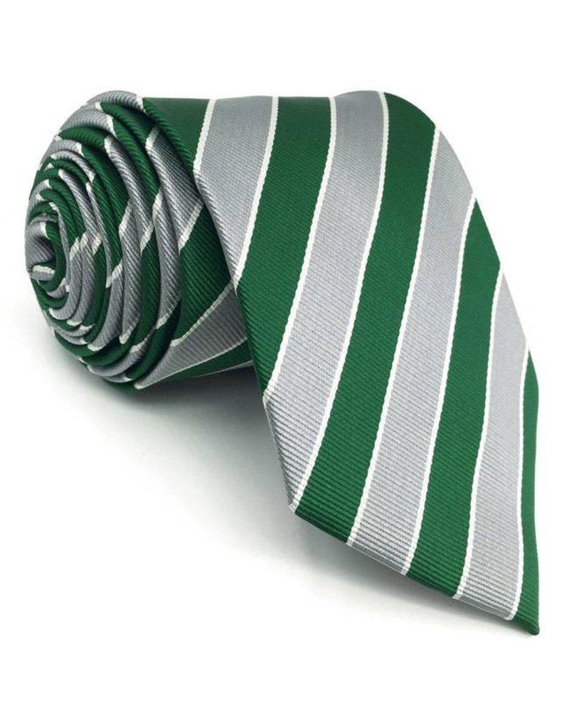 Silver Stripe Tie