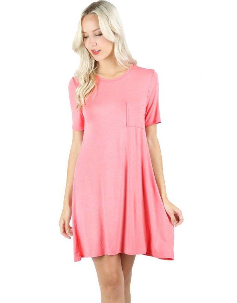 Pocket Swing Dress