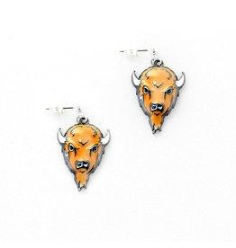 Marshall University Marco Enamel Earrings
