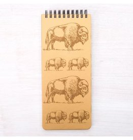 Bison Notebook 3.5 x 8.5