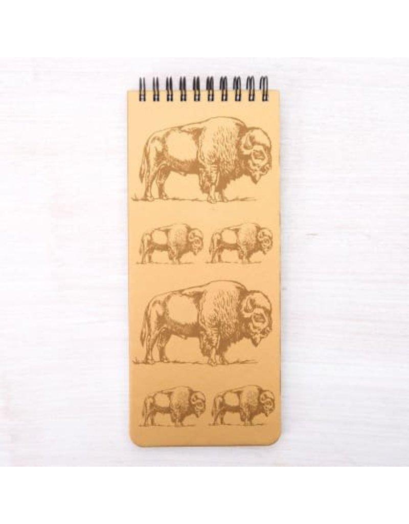 Bison Notebook 3.5 x 8.5