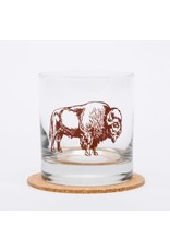 Bison Rocks Glass