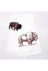Bison Tea Towel