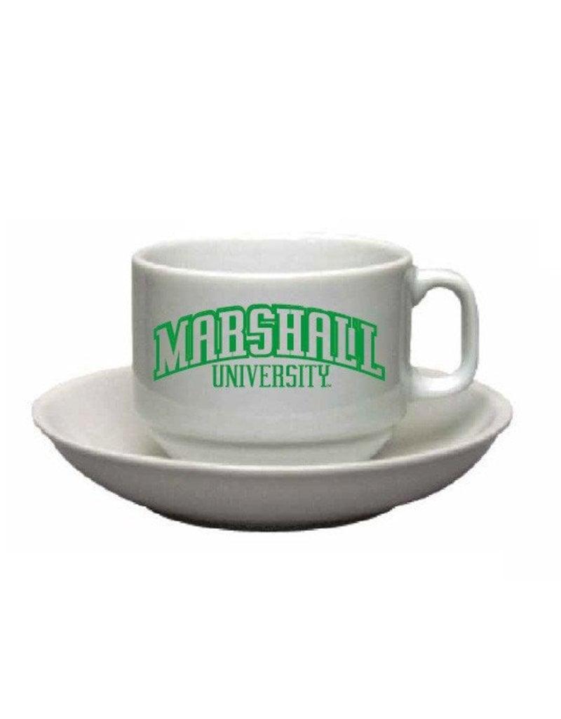 Marshall University Cappucino Cup and Saucer Set